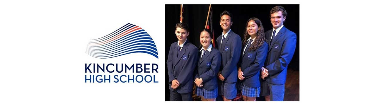 Kincumber High School - our school prefects